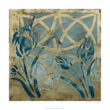 Stained Glass Indigo III Limited Edition by Megan Meagher