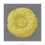 Gilded Rosette II Giclee Print by  Vision Studio