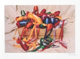 Ribbons Collectable Print by Harvey Edwards