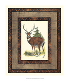 Rustic Deer Print