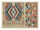 Turkish Carpet Design Giclee Print by John Burley Waring