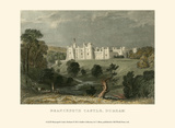 Brancepeth Castle, Durham Affiches par T. Allom