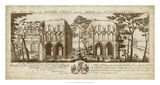 View of Roche-Abbey Giclee Print by  Buck