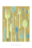 Spring Cutlery II Posters by Vanna Lam