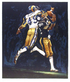 NFL Superbowl XIV Limited Edition by Merv Corning