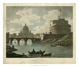 Ponte St. Angelo Art by Merigot 