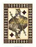Harlequin Cards II Print