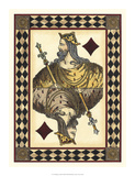 Harlequin Cards II Giclee Print by  Vision Studio