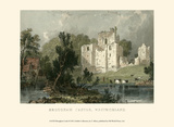 Brougham Castle, Westmoreland Posters by T. Allom