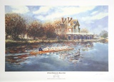 Oxford University Boat Club 150th Anniversary, 1839-1989 Collectable Print by John Gable