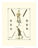 Golfers: H. Hutchinson &amp; John Ball Poster by Spy (Leslie M. Ward) 