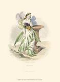 Le Fleur Animé I Prints by J.J. Grandville