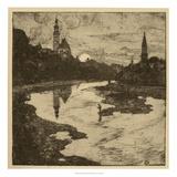 View of Salzburg II Giclee Print