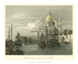 Church of Santa Maria della Salute Poster by William Leighton Leitch