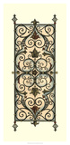 Printed Wrought Iron Panels I Poster