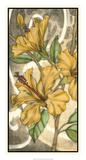 Hibiscus Song I Prints by Jennifer Goldberger