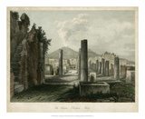 The Forum- Pompeii, Italy Giclee Print by  Wolfensberger