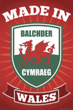 Wales-Made In Affiches