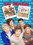 One Direction-3D Portrait Kunstdrucke