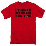 The Voice - Turned My Chair T-Shirt