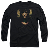 Long Sleeve: Lord of the Rings - Frodo One Ring T-shirts