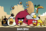 Angry Birds-Sheriff Affiches