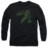 Long Sleeve: Jurassic Park - Raptor Mount T-Shirt