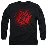 Long Sleeve: Hellboy II - BPRD Logo T-Shirt