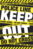 Keep Out-Crime Scene Posters