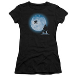Juniors: E.T. The Extra Terrestrial - E.T. Moon Scene T-shirts
