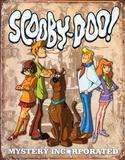 Scooby Doo Gang Retro Blikskilt