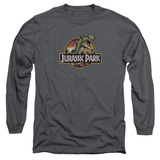 Long Sleeve: Jurassic Park - Retro Rex T-Shirt