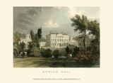 Hewick Hall Posters par T. Allom