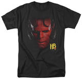Hellboy II - Hellboy Head T-shirts