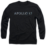 Long Sleeve: Apollo 13 - Apollo 13 Logo T-Shirt