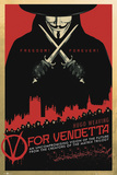 V for Vendetta-One Sheet Láminas