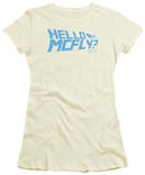 Juniors: Back to the Future - Hello McFly? T-Shirts