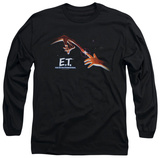 Long Sleeve: E.T. The Extra Terrestrial - E.T. Poster T-Shirt