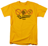 Fast Times at Ridgemont High - No Service T-shirts