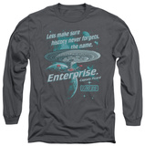 Long Sleeve: Star Trek - Never Forget T-Shirt