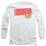 Long Sleeve: American Wedding - Wedding Logo T-Shirt