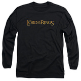 Long Sleeve: Lord of the Rings - LOTR Logo T-shirts