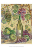 Wine with Apples Poster by Theresa Kasun