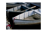 Wooden Rowboats V Print by Rachel Perry