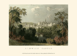 Ainwick Castle Prints by T. Allom