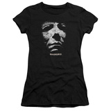 Juniors: Halloween II - Masked Kitty T-Shirt