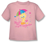 Toddler: Baby Tweety - Love & Affection T-shirts