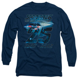 Long Sleeve: Star Trek - Enterprise 25 T-Shirt