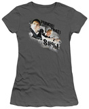 Juniors: Hot Fuzz - Punch That T-Shirt