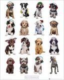 Kimberlin-Puppies Headphones Posters